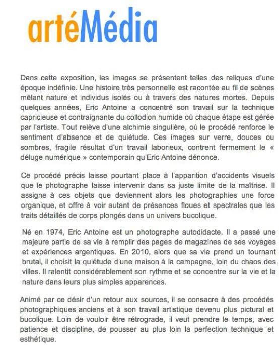 Éric Antoine photo Arté média 2013-artemedia-2