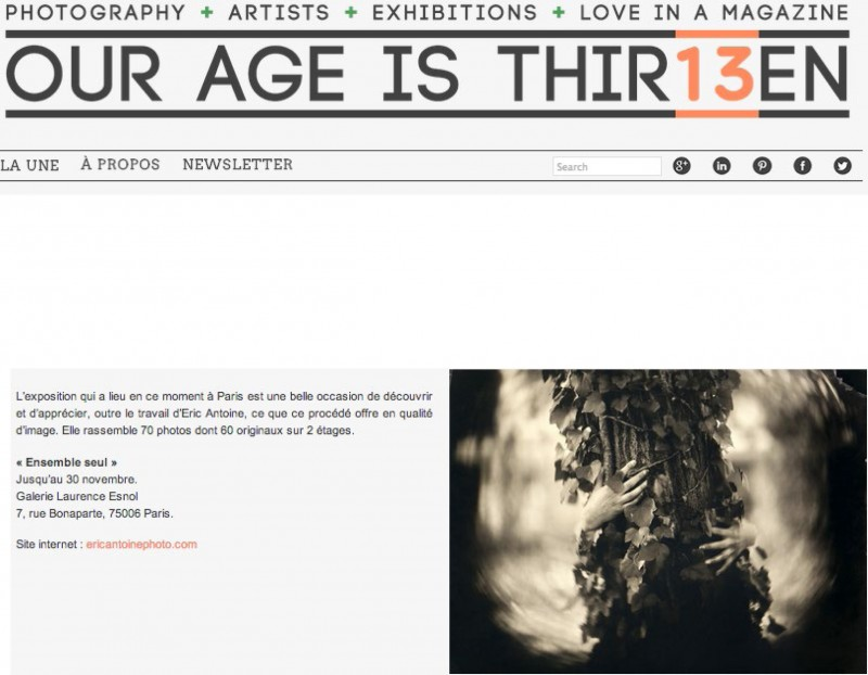 Éric Antoine photo Our age is thirteen 2013-ourageisthir13en-3