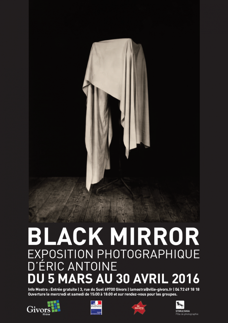 Éric Antoine photo Black Mirror Givors