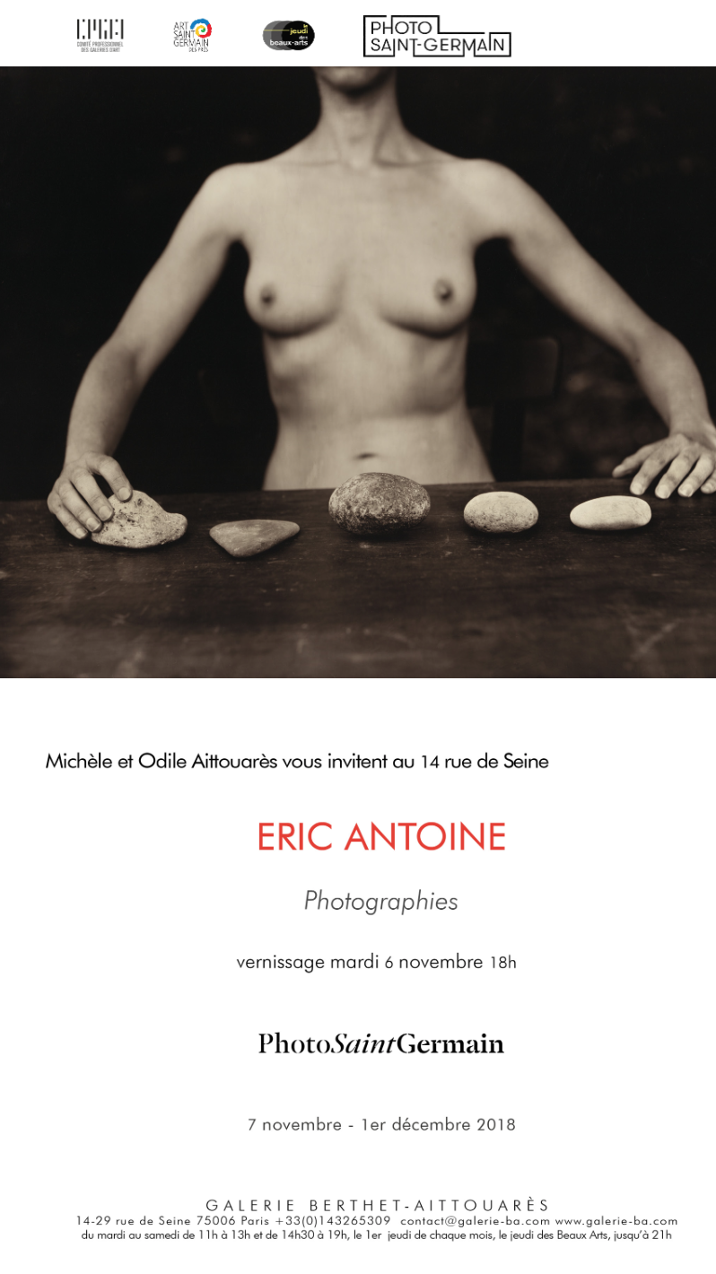 Eric Antoine photo Exposition personnelle Paris