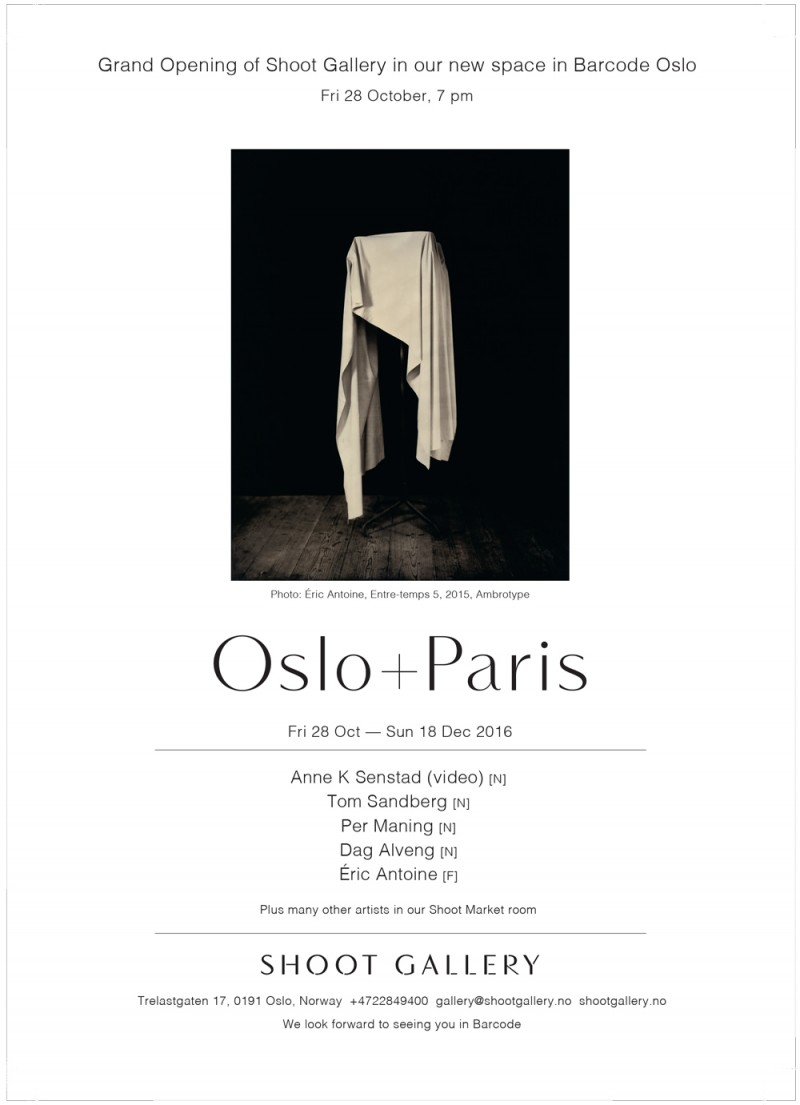 Éric Antoine photo Oslo+Paris Oslo